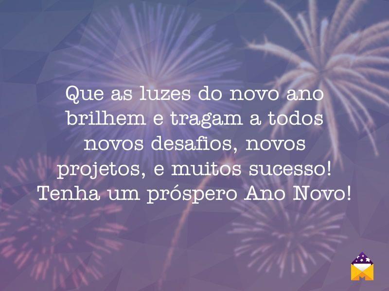 Próspero ano novo!