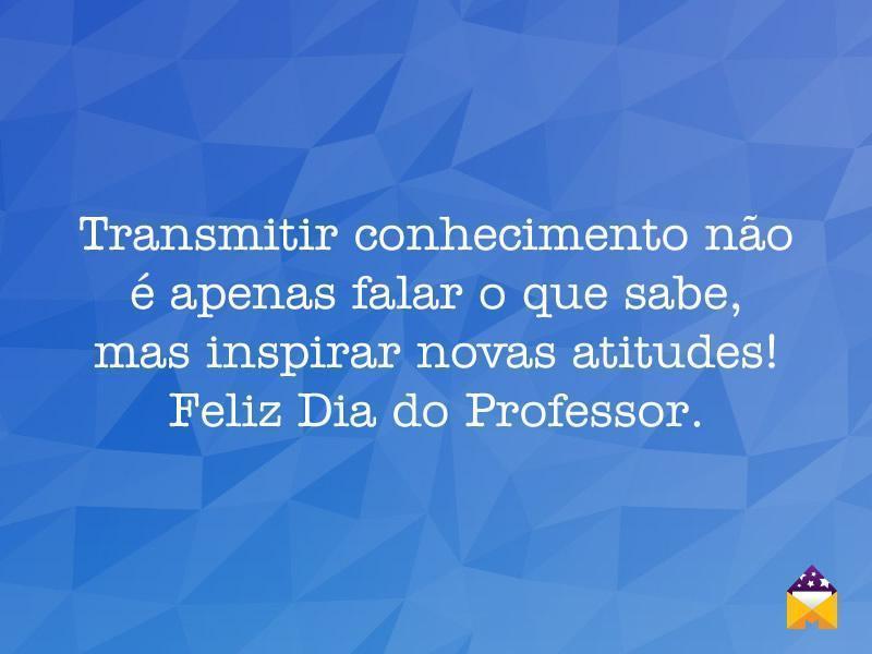 Mensagens De Dia Do Professor Magia Das Mensagens